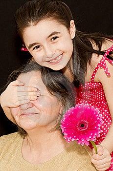 Surprising Grandmother Royalty Free Stock Photos - Image: 18623568