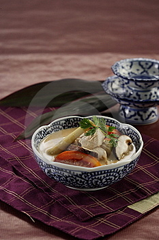 Tom Kai Gai Royalty Free Stock Photography - Image: 18623647