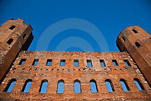 Italy - Porte Palatine Royalty Free Stock Images - Image: 18627339