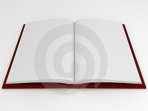 Book With Empty Pages Stock Images - Image: 18635464