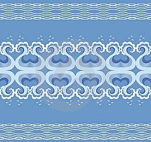 Waves Decoration Royalty Free Stock Image - Image: 18635826
