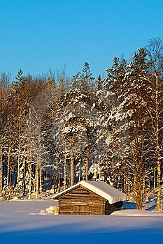 Winter Barn Stock Images - Image: 18636114