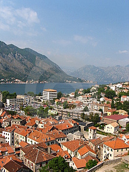 Kotor Habrour View Royalty Free Stock Photos - Image: 18636988