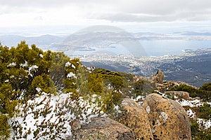 Mount Wellington Royalty Free Stock Photography - Image: 18637447