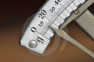 Letter Scales Stock Photos - Image: 18638113