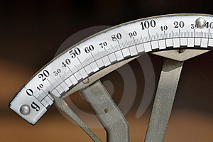 Letter Scales Stock Image - Image: 18638131