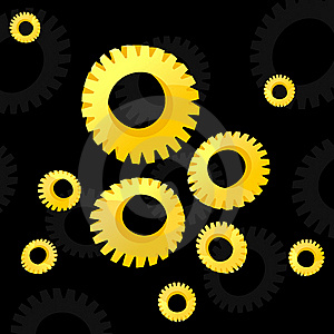 Gear Wheel2 Royalty Free Stock Images - Image: 18639609