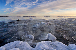 Icy Sea Stock Photos - Image: 18643453