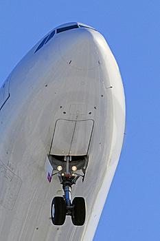 Aircraft Nose Close Up Royalty Free Stock Photography - Image: 18644117