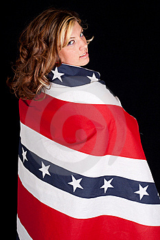 Fourth Of July Women Royalty Free Stock Photo - Image: 18646015