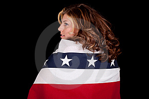 Fourth Of July Side View Royalty Free Stock Images - Image: 18646019
