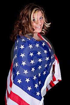Eingewickelt In Amerika Lizenzfreies Stockfoto - Bild: 18646155