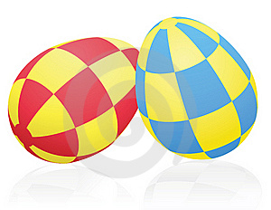 Ornamental Easter Eggs Royalty Free Stock Photos - Image: 18649778