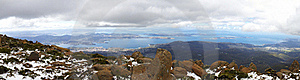 Mount Wellington Panorama Royalty Free Stock Images - Image: 18650169