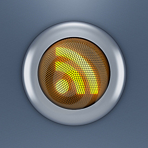 RSS Button Concept Royalty Free Stock Photography - Image: 18652137