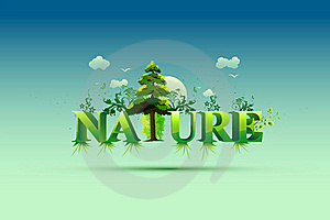 Nature Wallpaper Royalty Free Stock Images - Image: 18658399