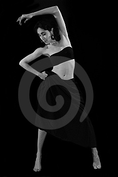 Contemporary Female Dancer Series Stock Images - Image: 18661194