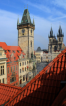 Old Town, Prague Stock Images - Image: 18661464