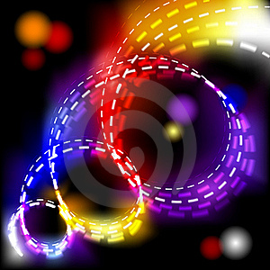 Abstract Vector Shiny Spiral Explosion Background Royalty Free Stock Images - Image: 18662149