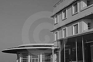 Midland Hotel In Morecambe, Lanc Royalty Free Stock Image - Image: 18662756