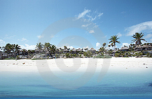 Tropical Beach Royalty Free Stock Photo - Image: 18662975