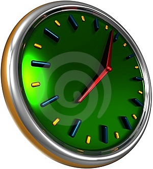 Abstract Clock Royalty Free Stock Photography - Image: 18664297