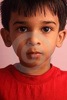 Portrati Of Indian Little Boy Royalty Free Stock Image - Image: 18665056