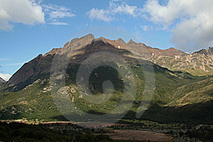 Andes Mountains, Ushuaia 2 Stock Photos - Image: 18665583