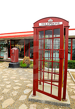 Red Telephone Box Royalty Free Stock Photography - Image: 18666507