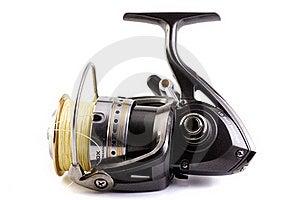 Fishing Reel Royalty Free Stock Photos - Image: 18666598