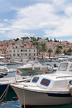Hvar And Its Harbor Stock Photography - Image: 18671312