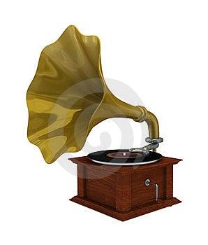Gramophone Royalty Free Stock Photos - Image: 18671898