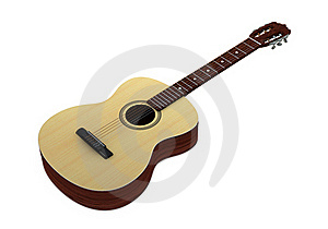 Classic Guitar Royalty Free Stock Photo - Image: 18671925