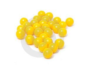 Pile Of Vitamin Pills Stock Photo - Image: 18672650