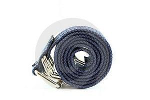 Blue Fabric Belt Stock Photo - Image: 18675420
