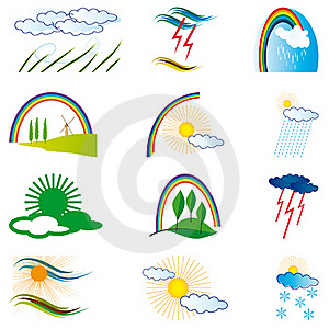 A Collection Of Natural Elements Royalty Free Stock Photo - Image: 18675435