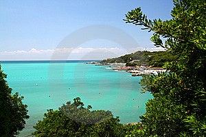 Azure Sea Coast Stock Images - Image: 18678154