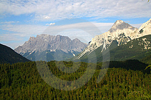 Zugspitze Stock Images - Image: 18678404