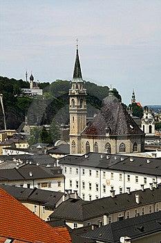 Salzburg Church Stock Photography - Image: 18678772