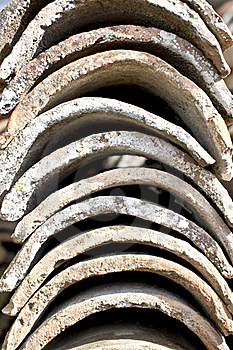 Clay Roof Tiles Stock Images - Image: 18679234
