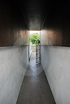Open Gates Stock Photography - Image: 18680332