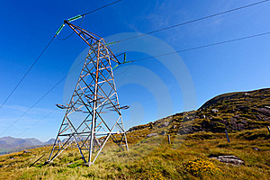 Electric Power Pole Stock Images - Image: 18681844