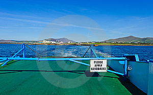 Ferry Boat Cross, Ireland Royalty Free Stock Images - Image: 18681849