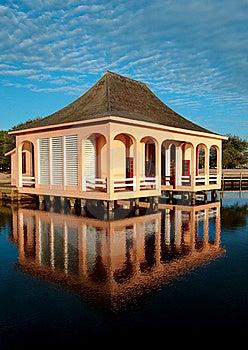 The Boathouse Royalty Free Stock Photography - Image: 18682347