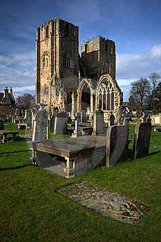 Ancient Elgin Cathedral Stock Image - Image: 18685651