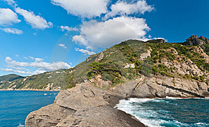 Italian Coast Line Stock Photos - Image: 18686673