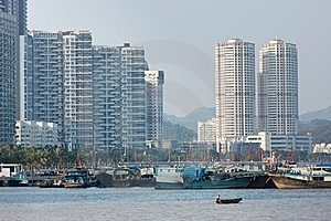 Buildings By The Bay Stock Images - Image: 18688114