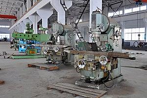 Factory Workshop Panorama Stock Photos - Image: 18688263
