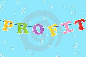 Hanging Profit Royalty Free Stock Photo - Image: 18690385