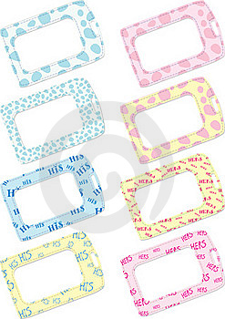 Luggage Tag Selection Royalty Free Stock Photos - Image: 18692858